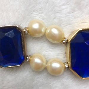 Jewelry - Vintage Gripoix Styled Pearl Couture Necklace